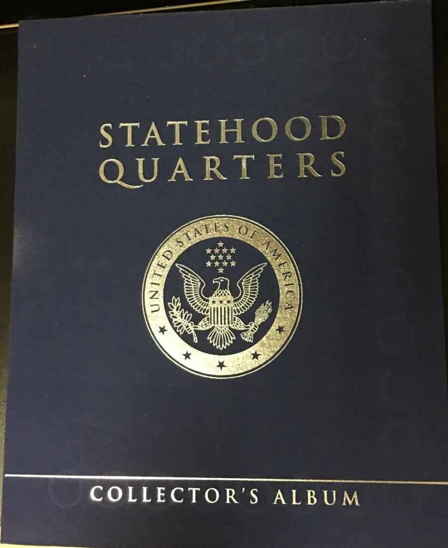 U.S. Statehood Quarters Collectors Album - 2