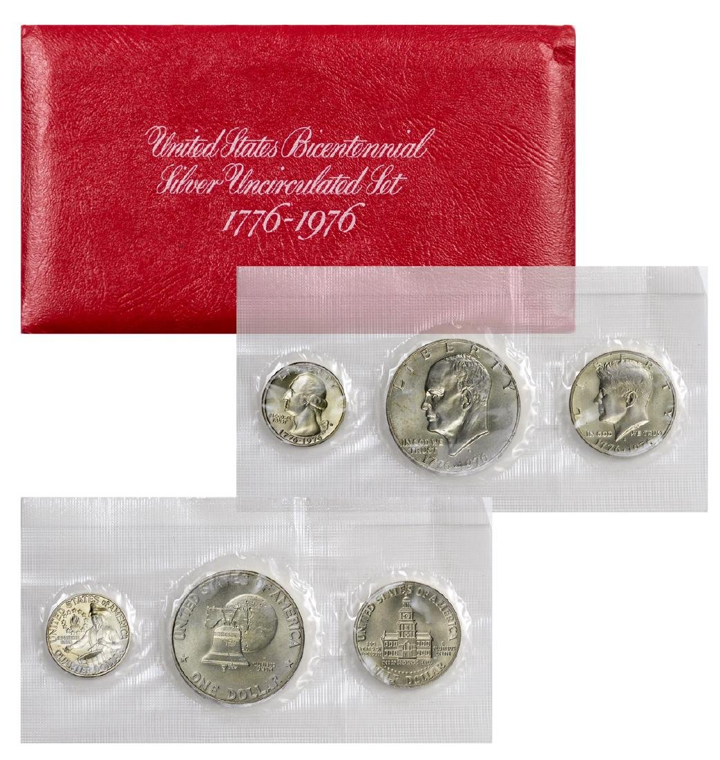 Lot of 2: 1776-1976 U.S. Bicentennial Silver Sets Proof - 4