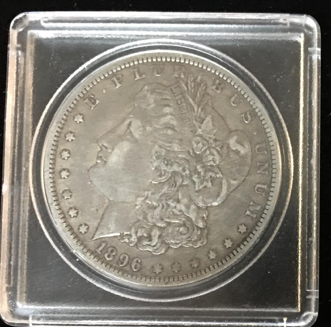 1896-O $1 Morgan Silver Dollar