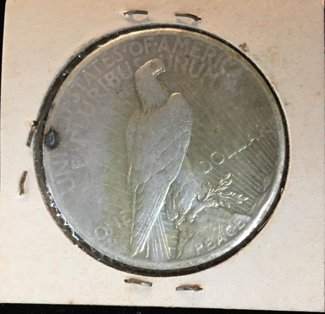 1925-P $1 Peace Silver Dollar - 2