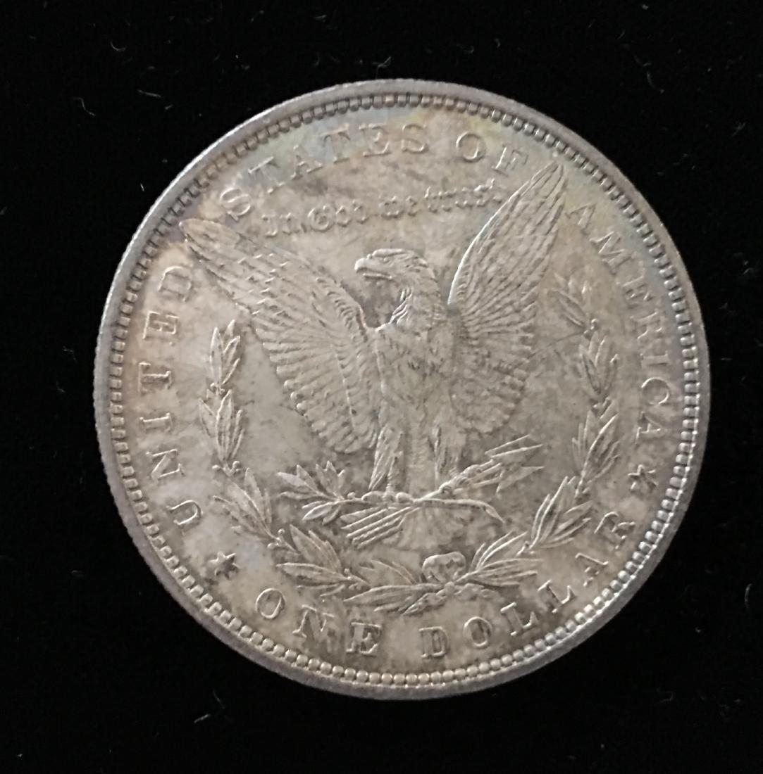 1880-P $1 Morgan Silver Dollar GEM BU Nice Rainbow - 3