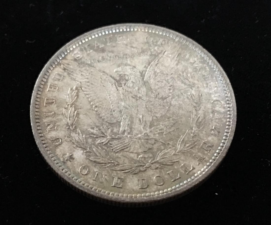 1880-P $1 Morgan Silver Dollar GEM BU Nice Rainbow - 5