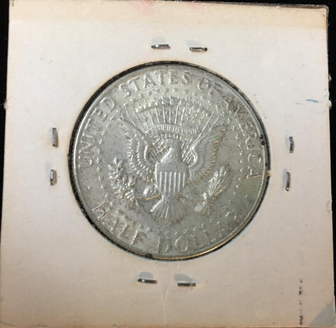 1964-D 50C Kennedy Half Dollar BU 90% Silver - 2