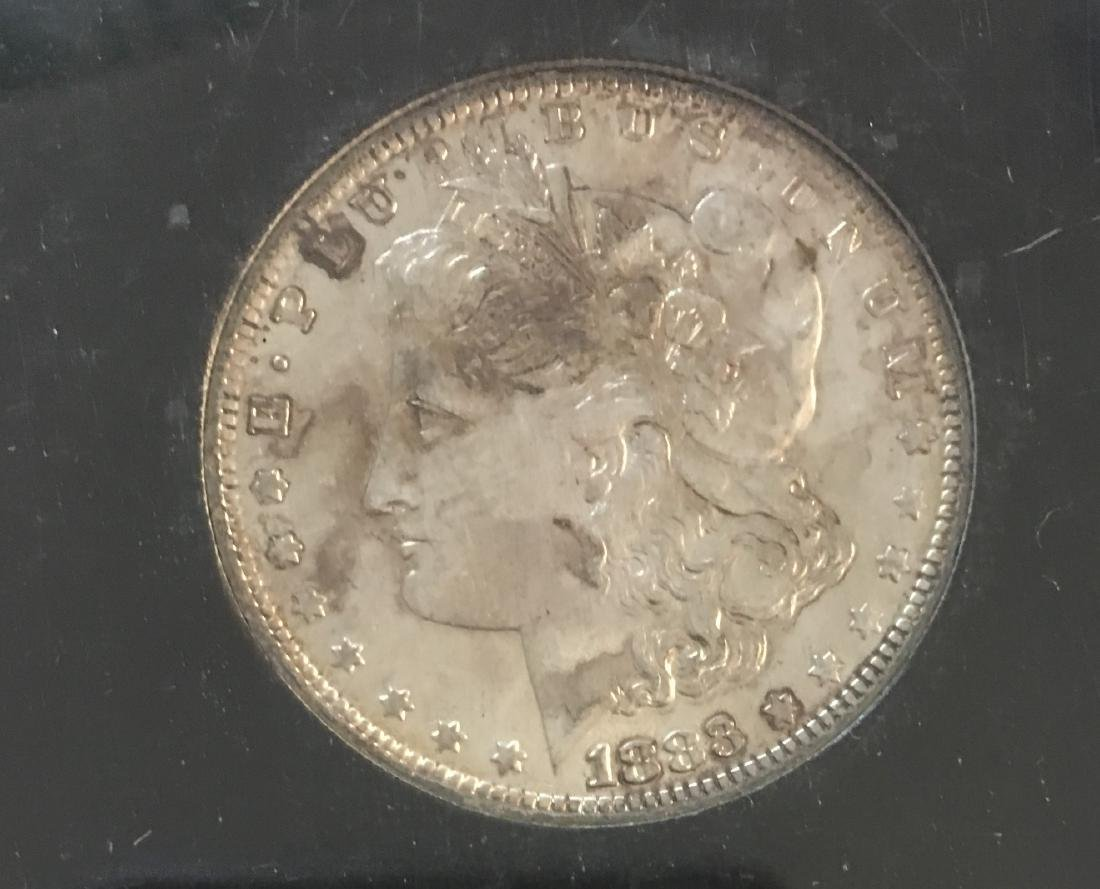 1883-O $1 Morgan Silver Dollar BU - 3