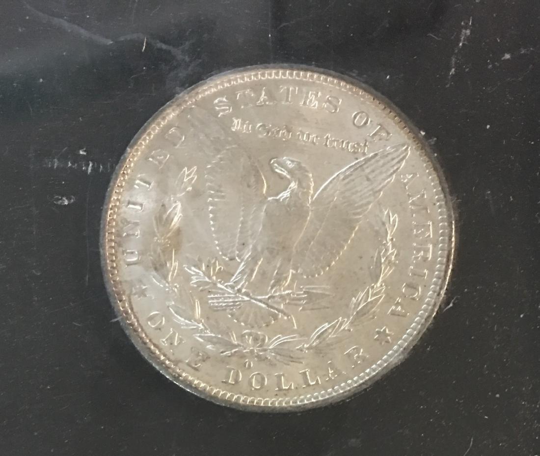 1883-O $1 Morgan Silver Dollar BU - 4