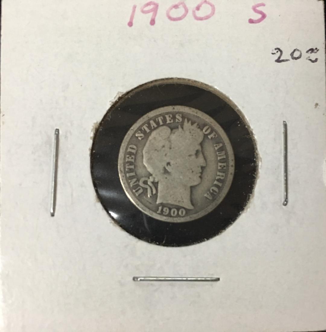 1900-S 10C Silver Barber Dime (Liberty Head)