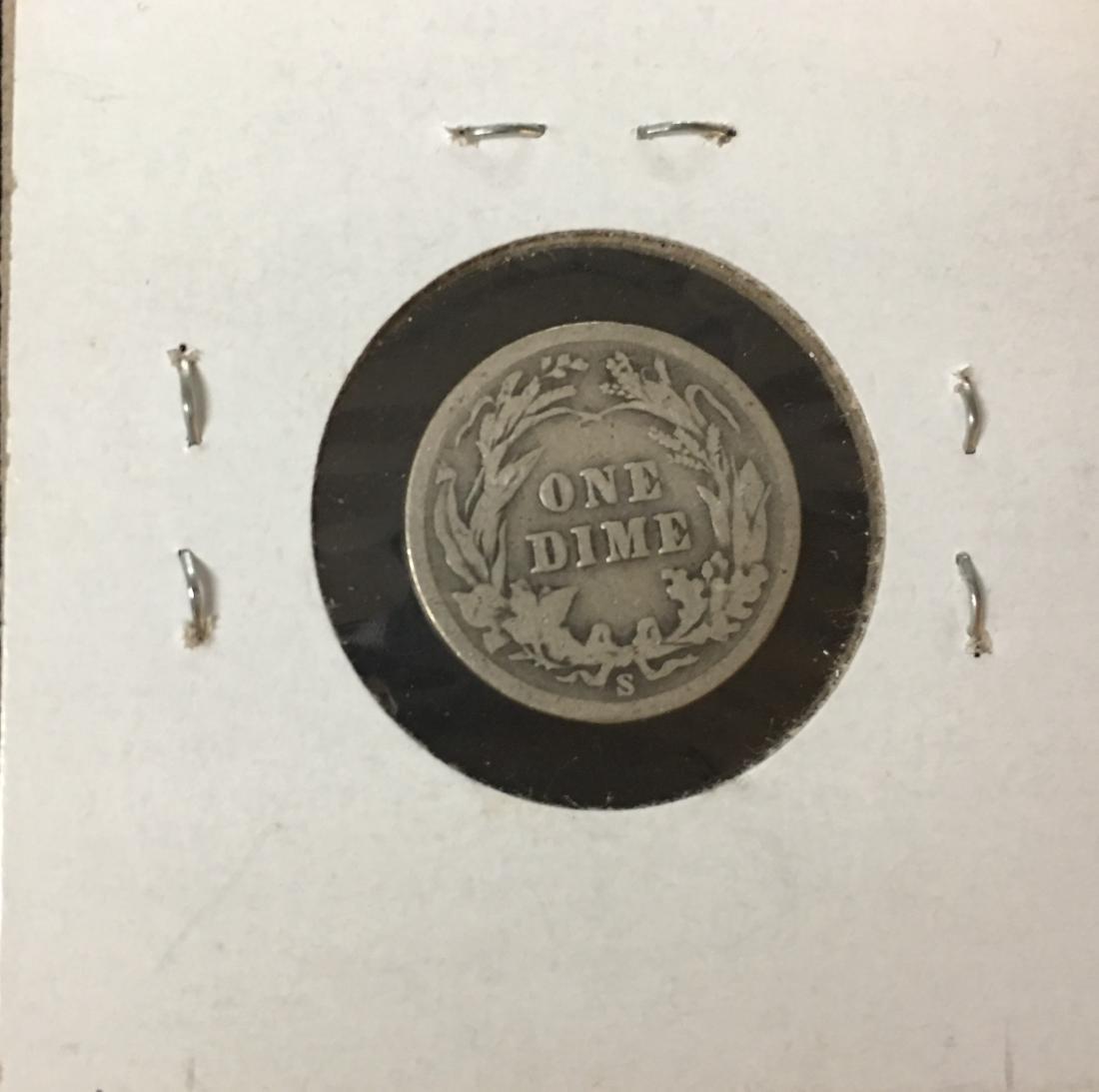 1900-S 10C Silver Barber Dime (Liberty Head) - 2