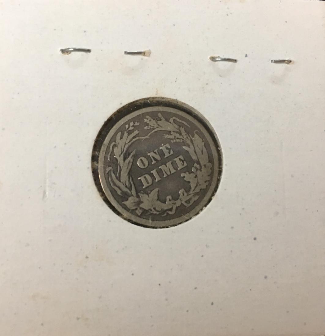 1902-P 10C Silver Barber Dime (Liberty Head) - 2