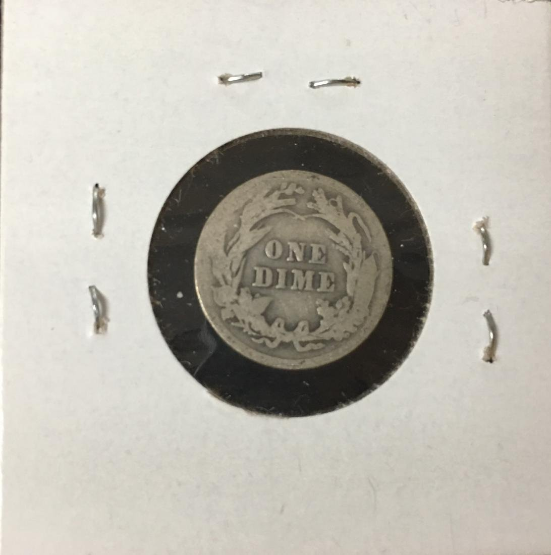 1907-P 10C Silver Barber Dime (Liberty Head) - 2