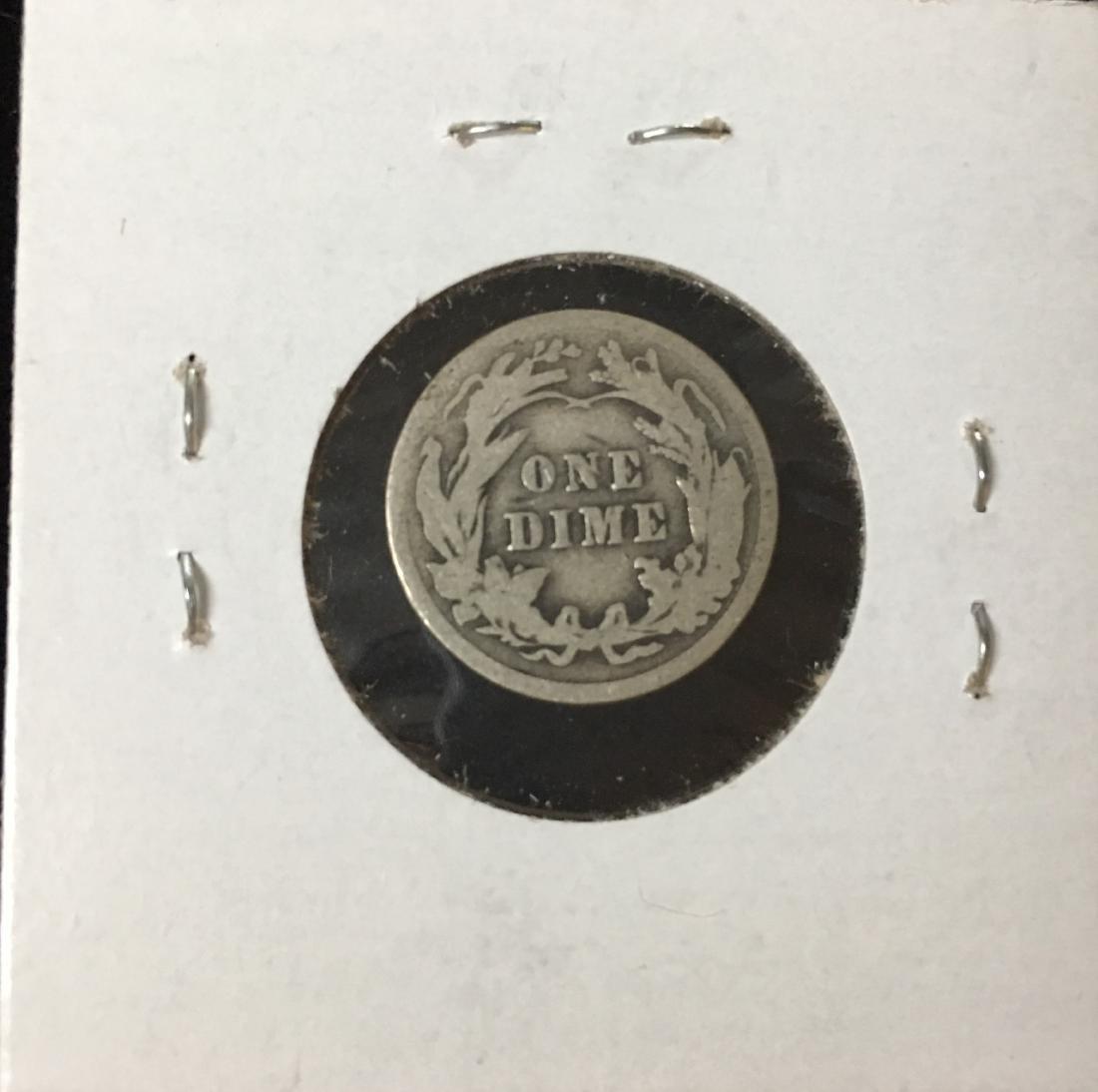 1908-P 10C Silver Barber Dime (Liberty Head) - 2
