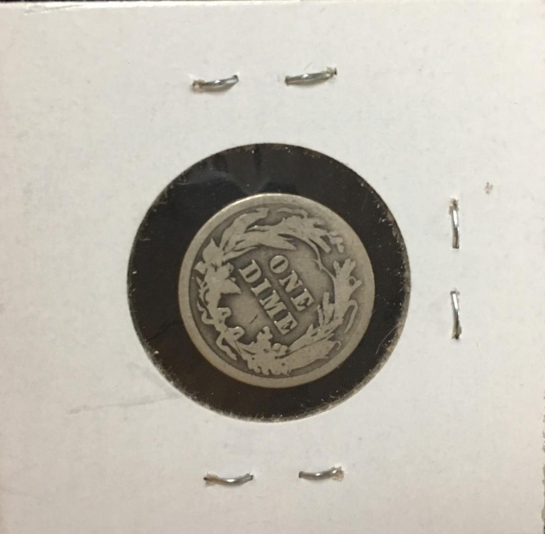 1912-P 10C Silver Barber Dime (Liberty Head) - 2