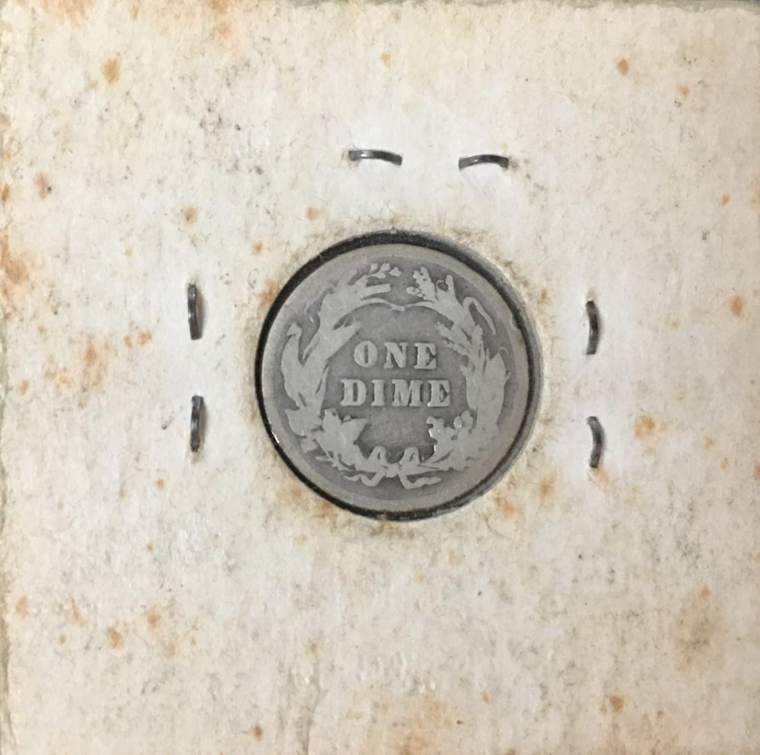 1914-P 10C Silver Barber Dime (Liberty Head) - 2