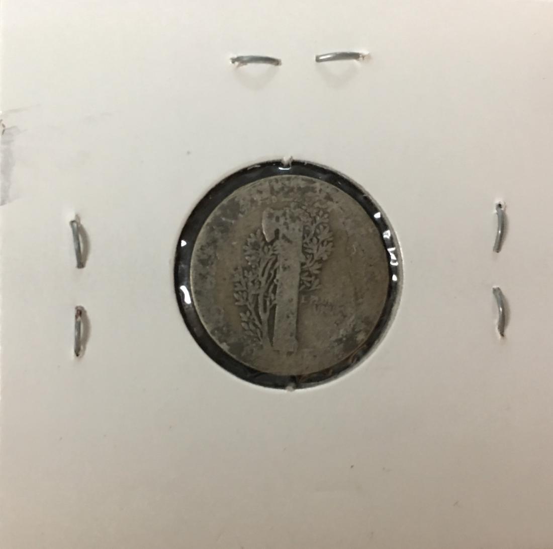 1916-P 10C Silver Mercury Dime (Winged Liberty Head) - 2