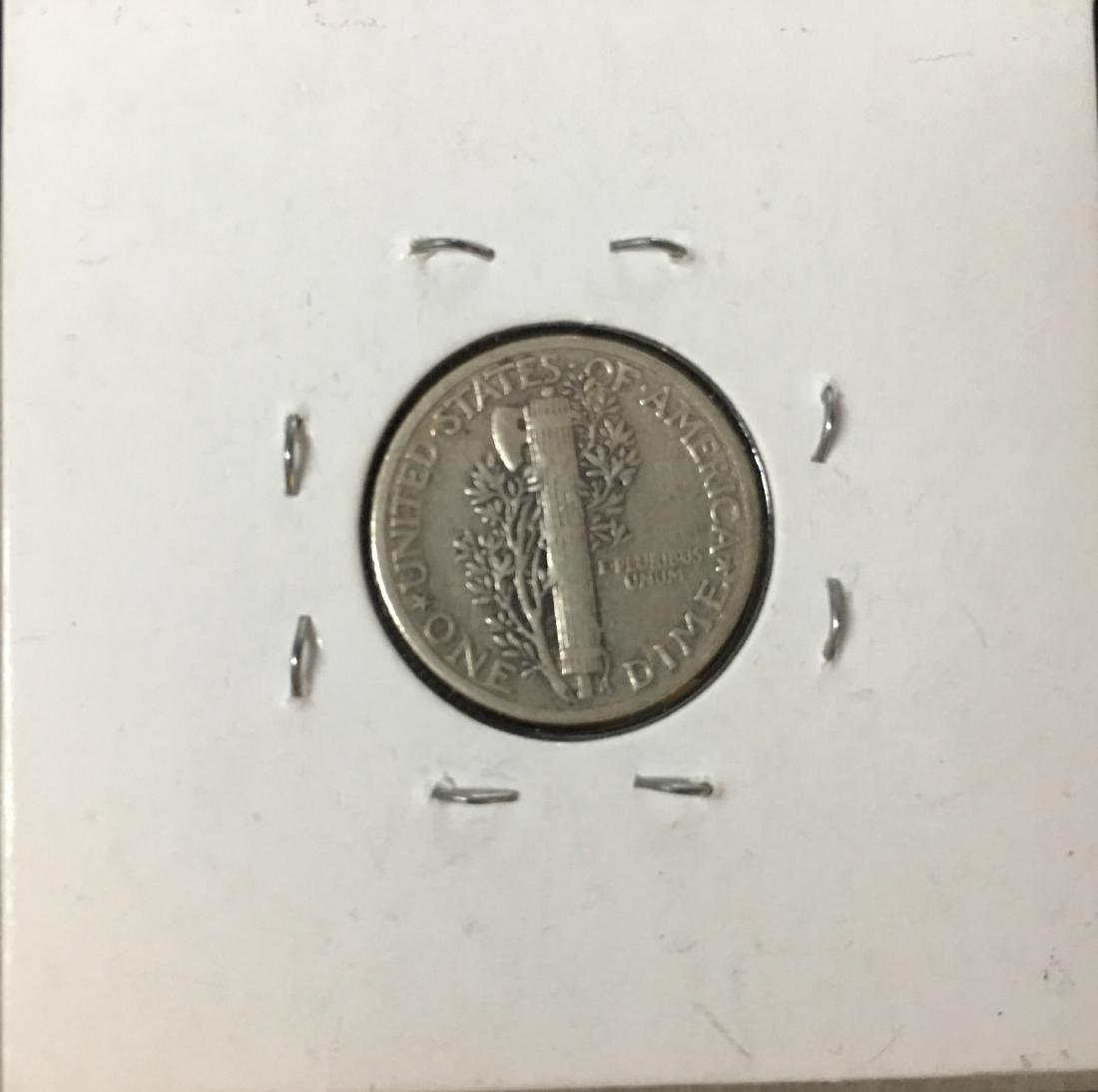 1939-P 10C Silver Mercury Dime (Winged Liberty Head) - 2