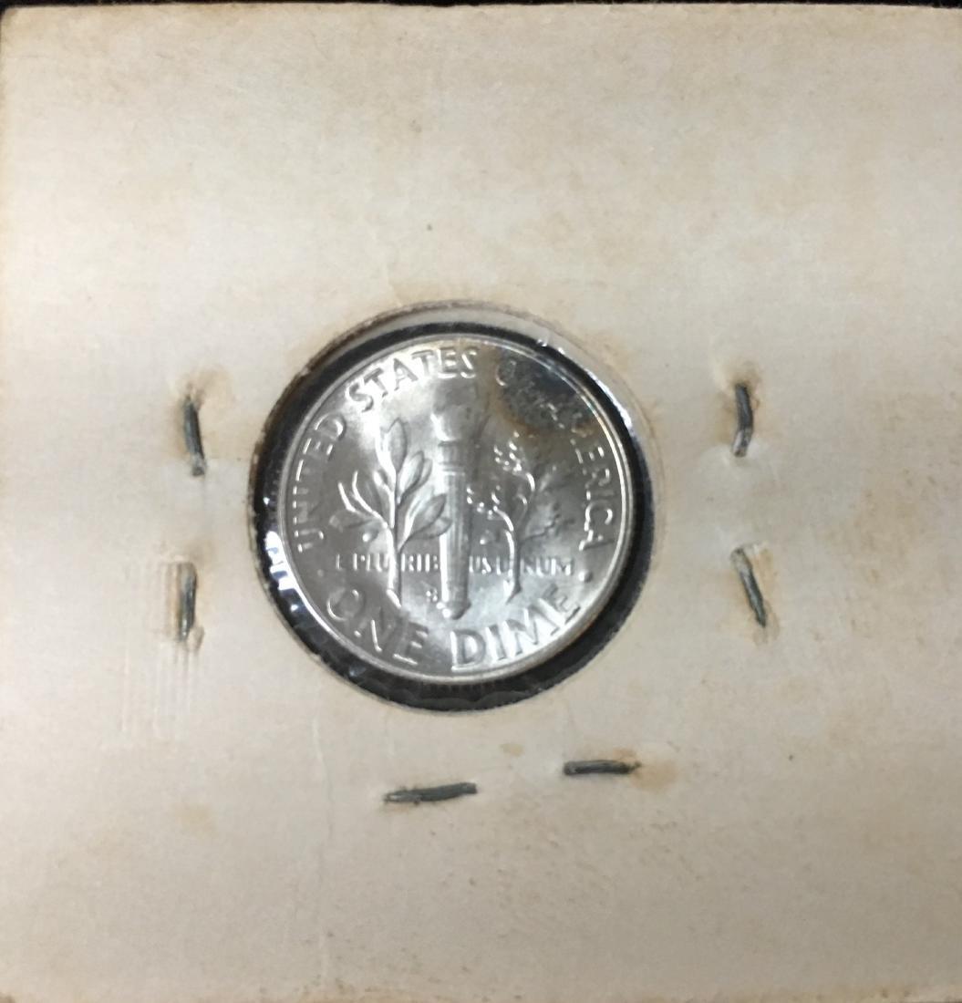 1947-PDS 10C Set of 3 Silver Roosevelt Dimes BU - 8