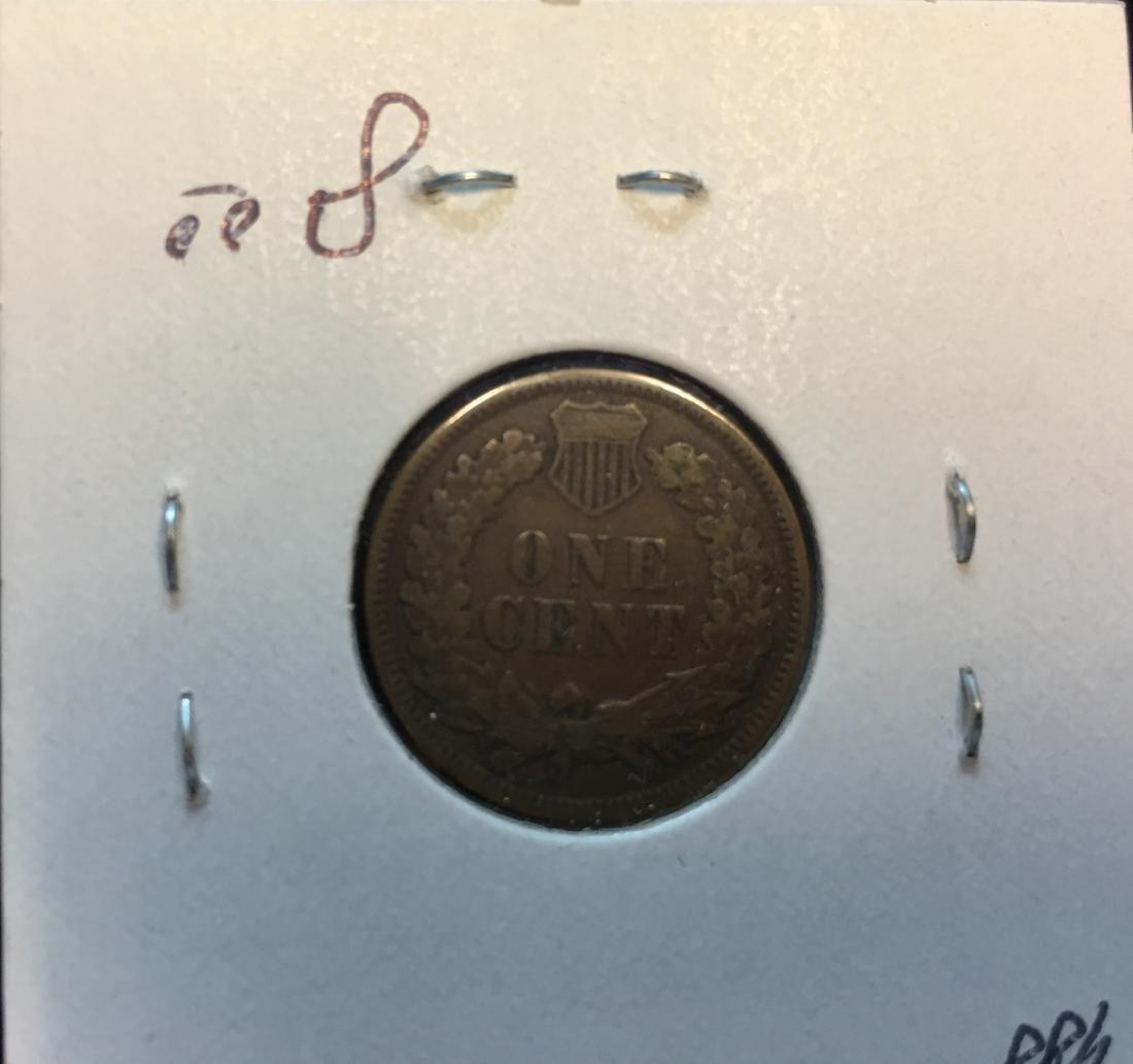1880 1C Indian Head Cent - 2