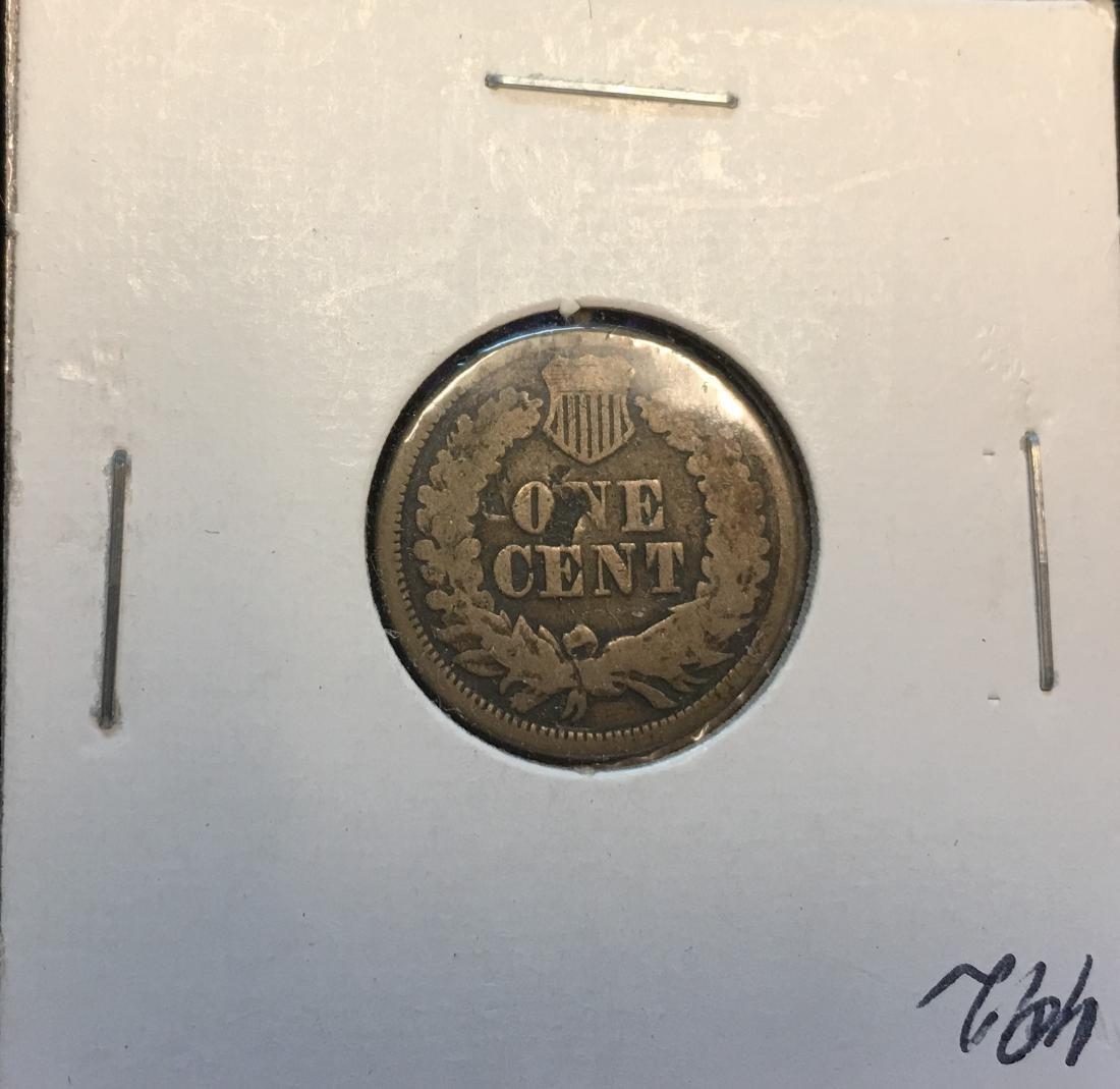 1864 1C Indian Head Cent - 2