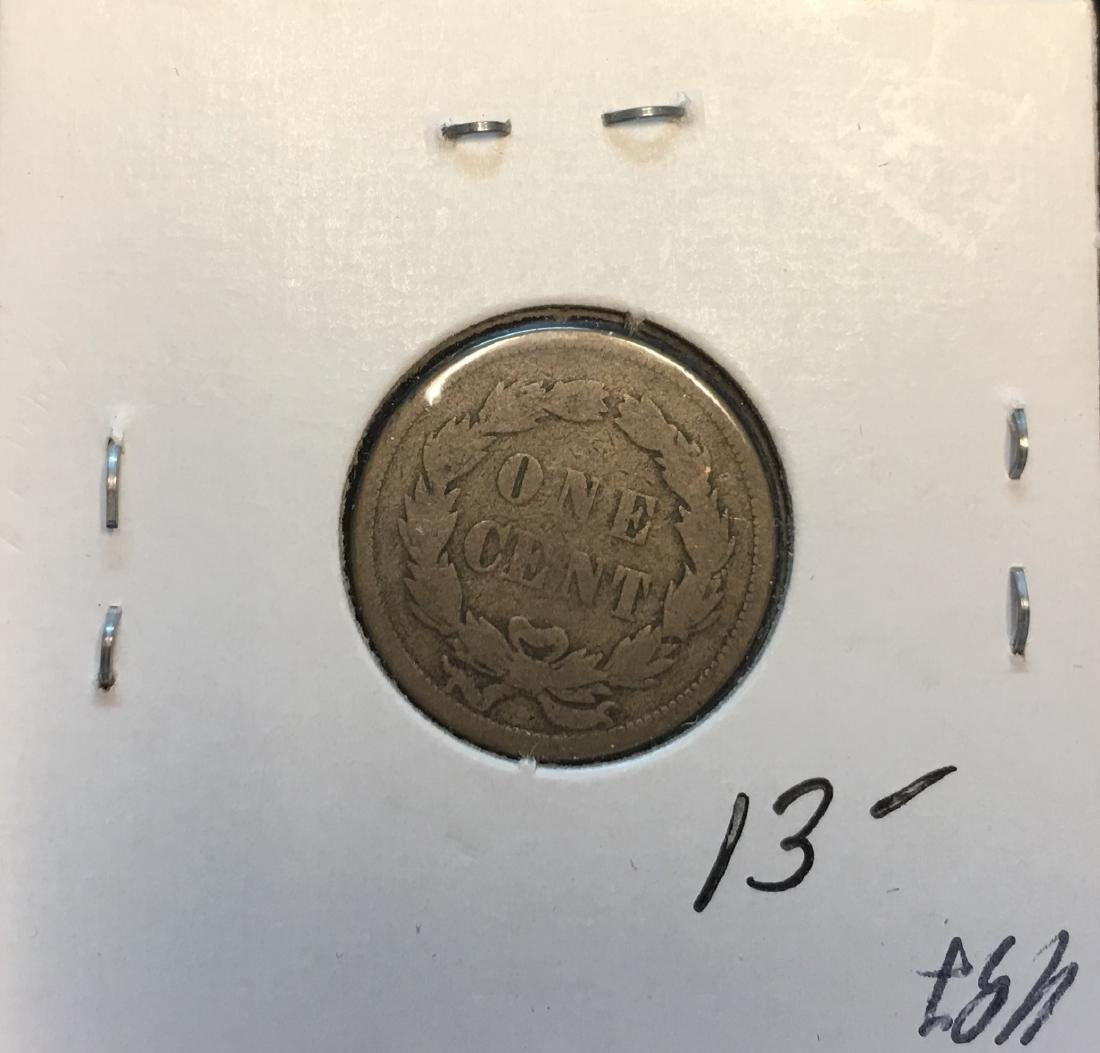 1859 1C Indian Head Cent - 2