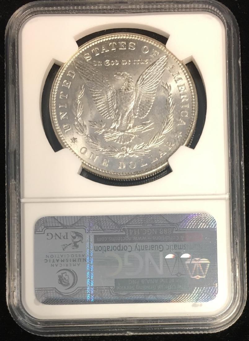 1886-P $1 Morgan Silver Dollar NGC MS63 - 2