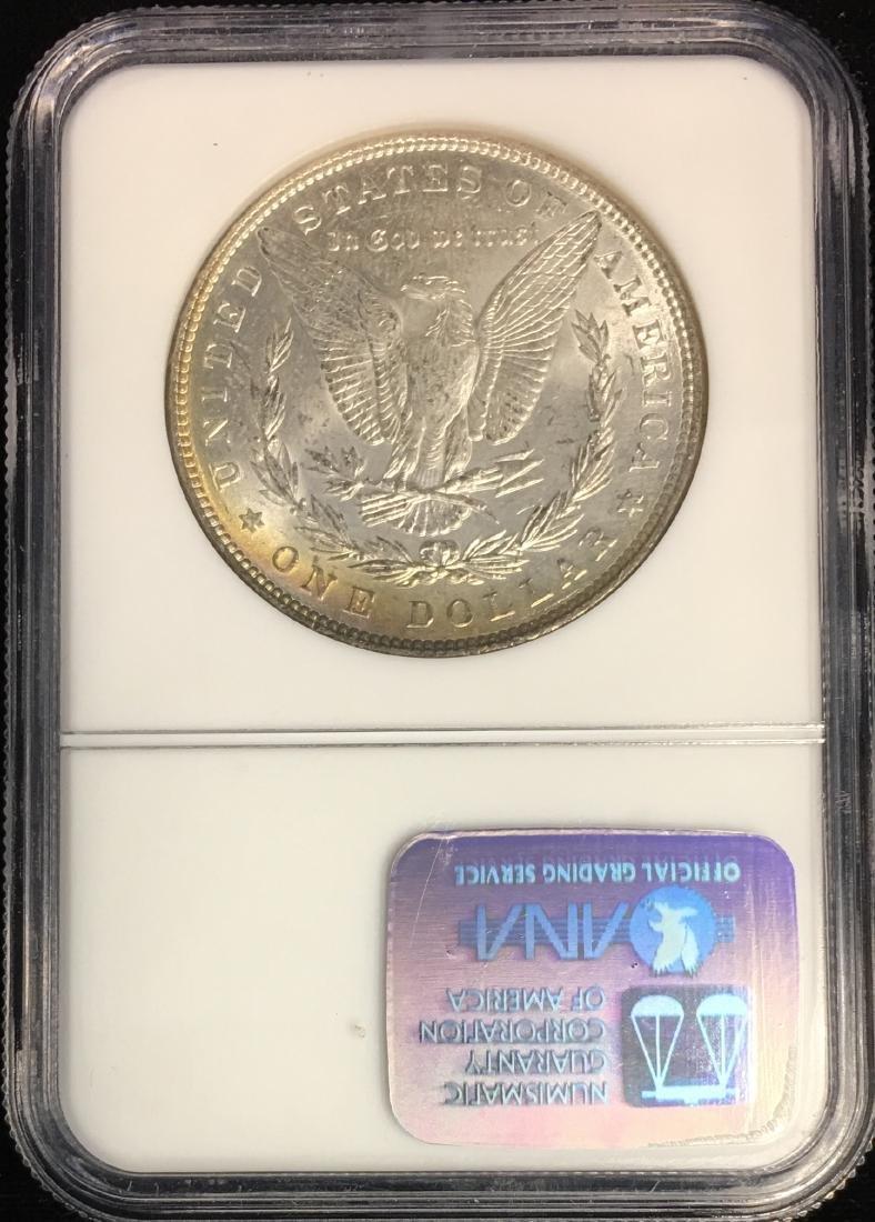 1887-P $1 Morgan Silver Dollar Binion Collection NGC - 2