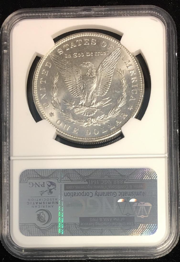 1889-P $1 Morgan Silver Dollar NGC MS63 - 2
