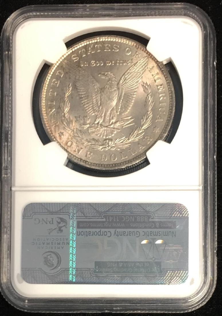 1896-P $1 Morgan Silver Dollar NGC MS63 Very Nice - 2