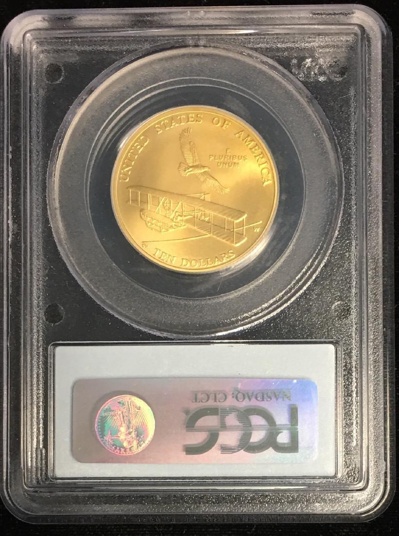 2003-W $10 First Flight Centennial U.S. Vault - 2