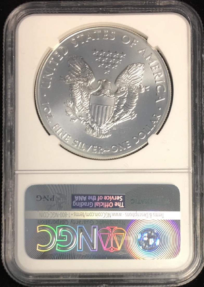 2015 $1 American Silver Eagle NGC MS69 - 2