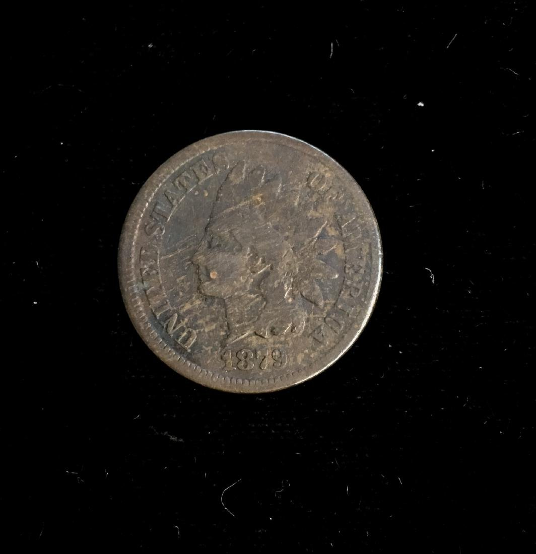 1879 1C Indian Head Cent Good