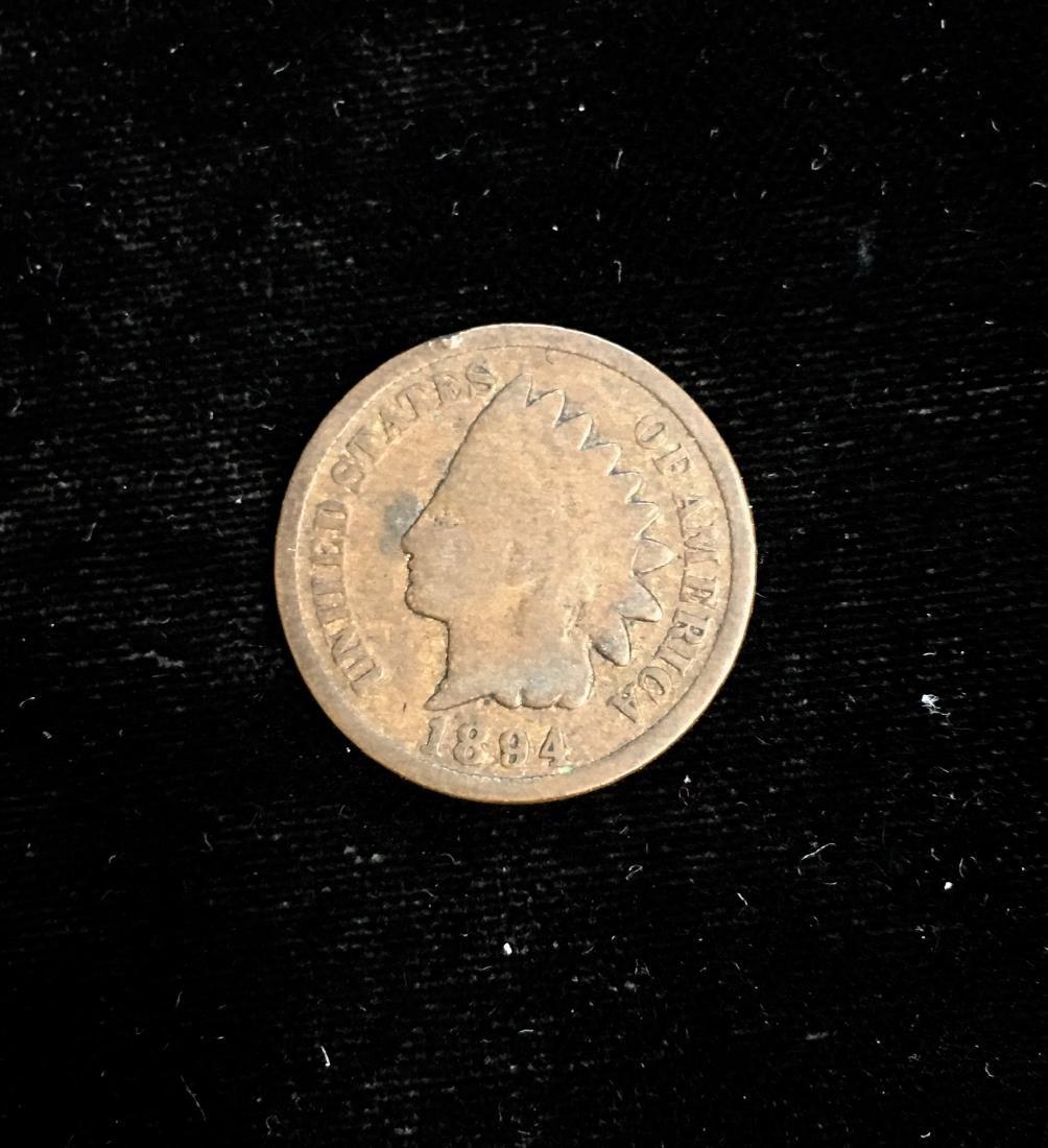 1894 1C Indian Head Cent Good