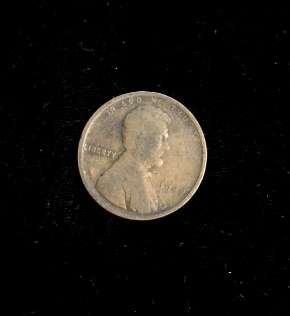 1909 1C Lincoln Cent VG