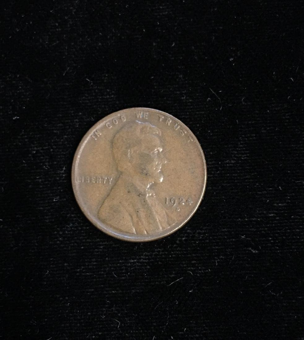 1924-D 1c Lincoln Cent VF