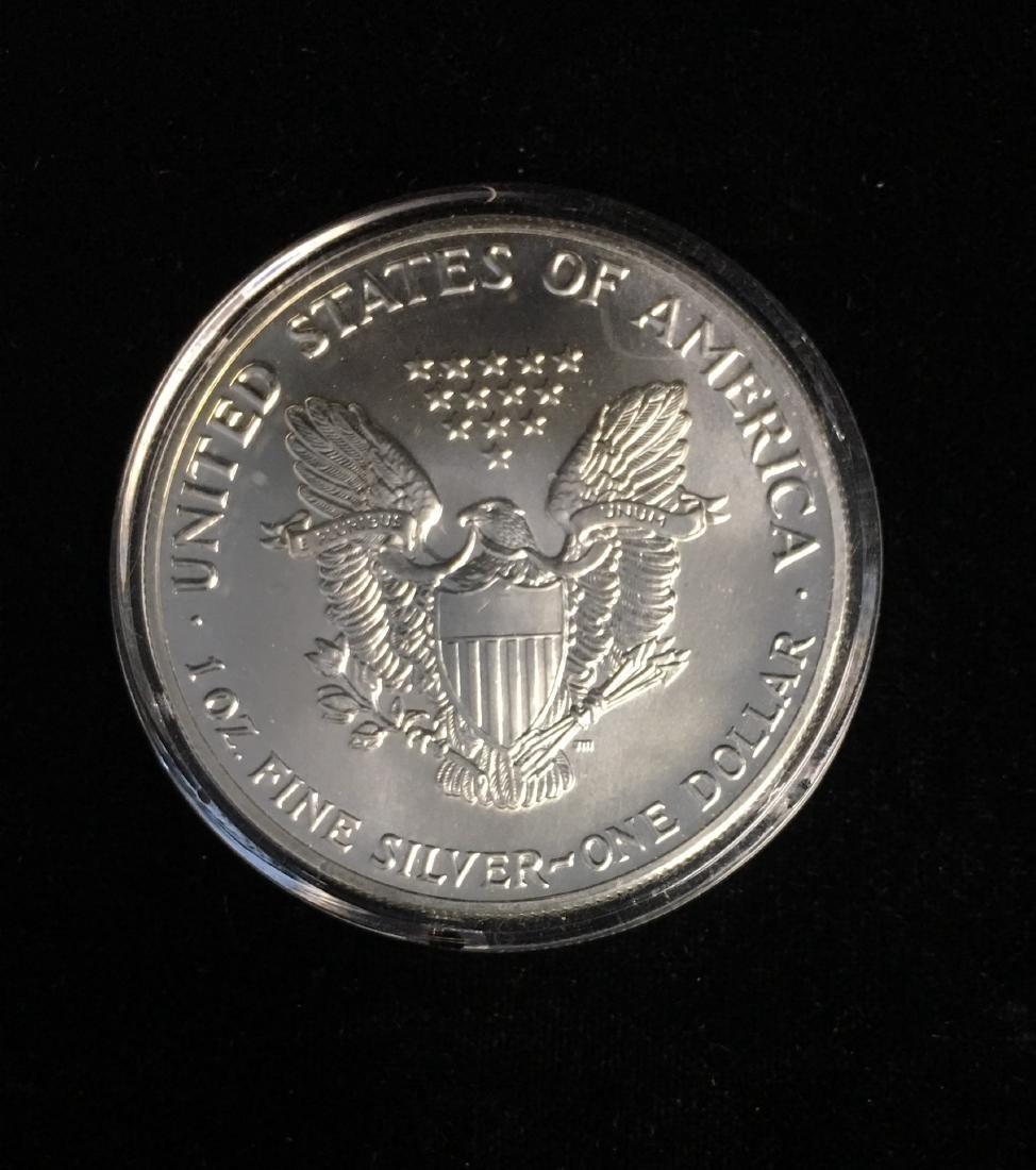 1987 $1 American Silver Eagle BU - 2