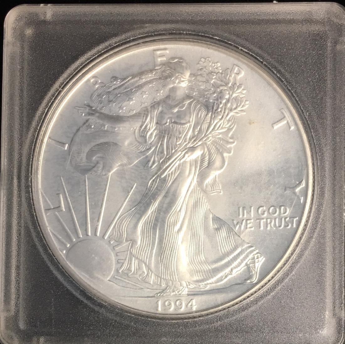 1994 $1 American Silver Eagle BU