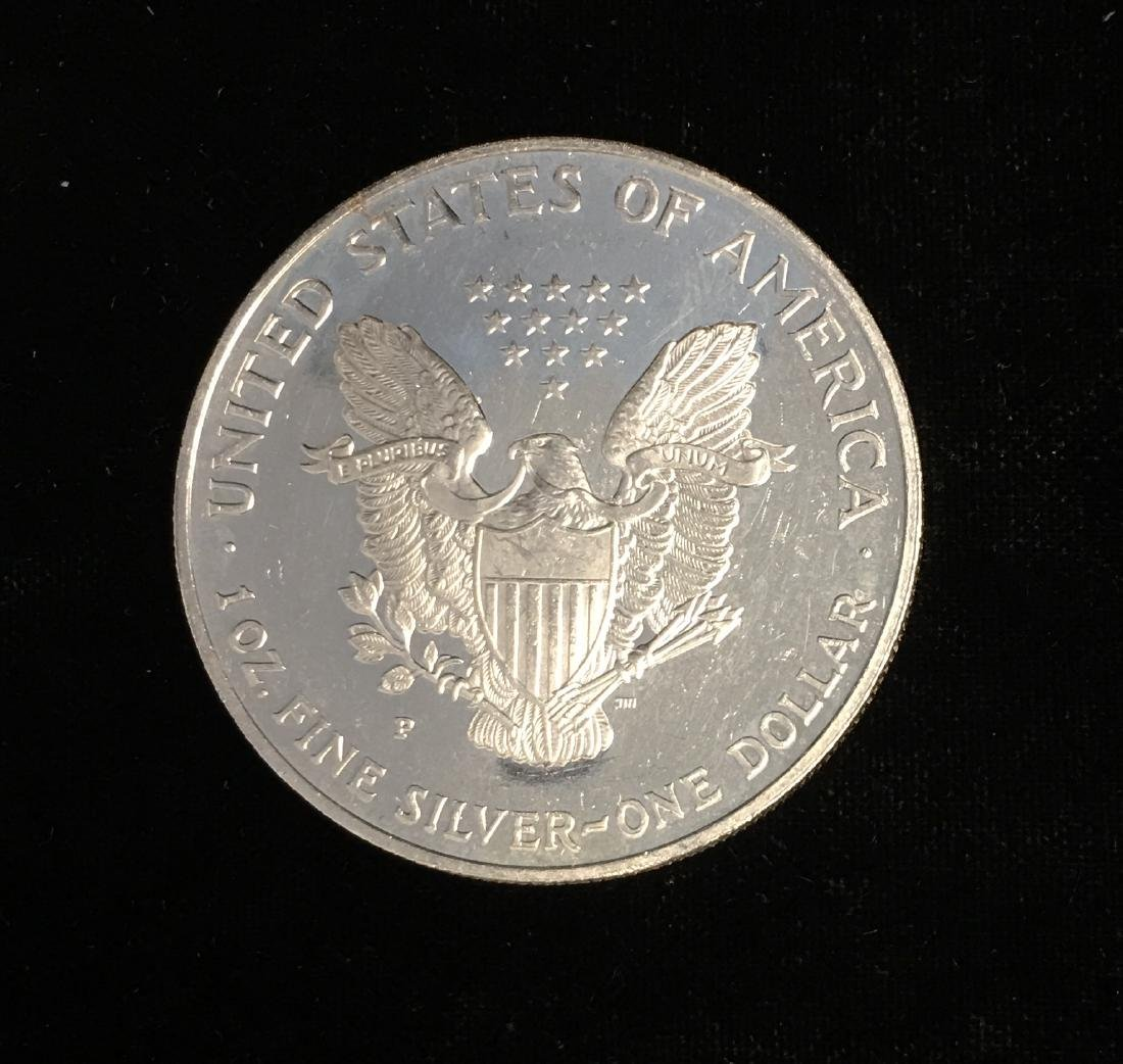 1997-P $1 American Silver Eagle Proof - 2