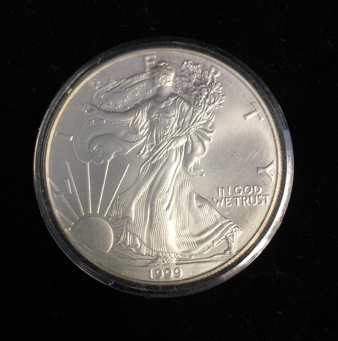 1999 $1 American Silver Eagle BU