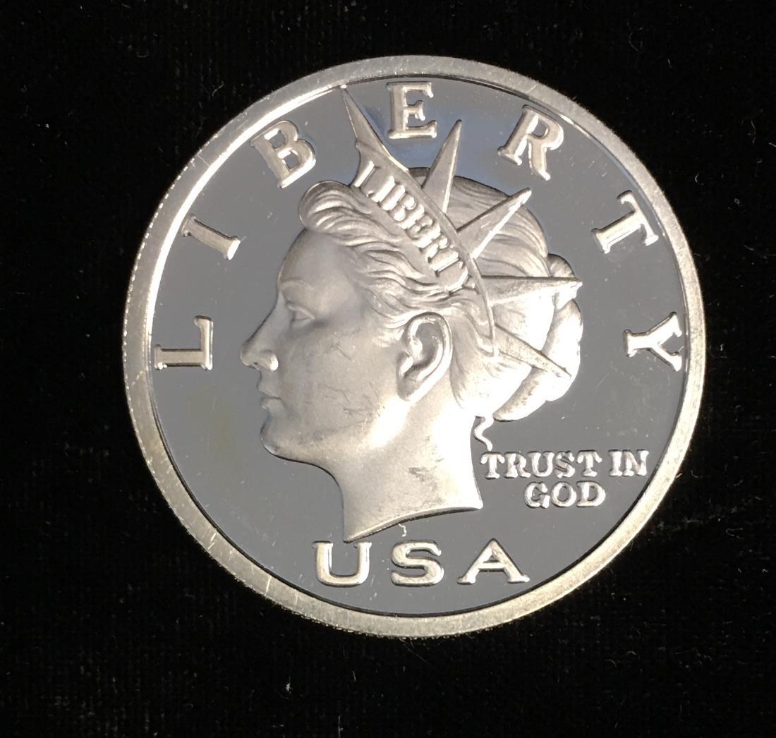 Silver Round 1/2 oz .999 Fine Silver - 2003 NORFED