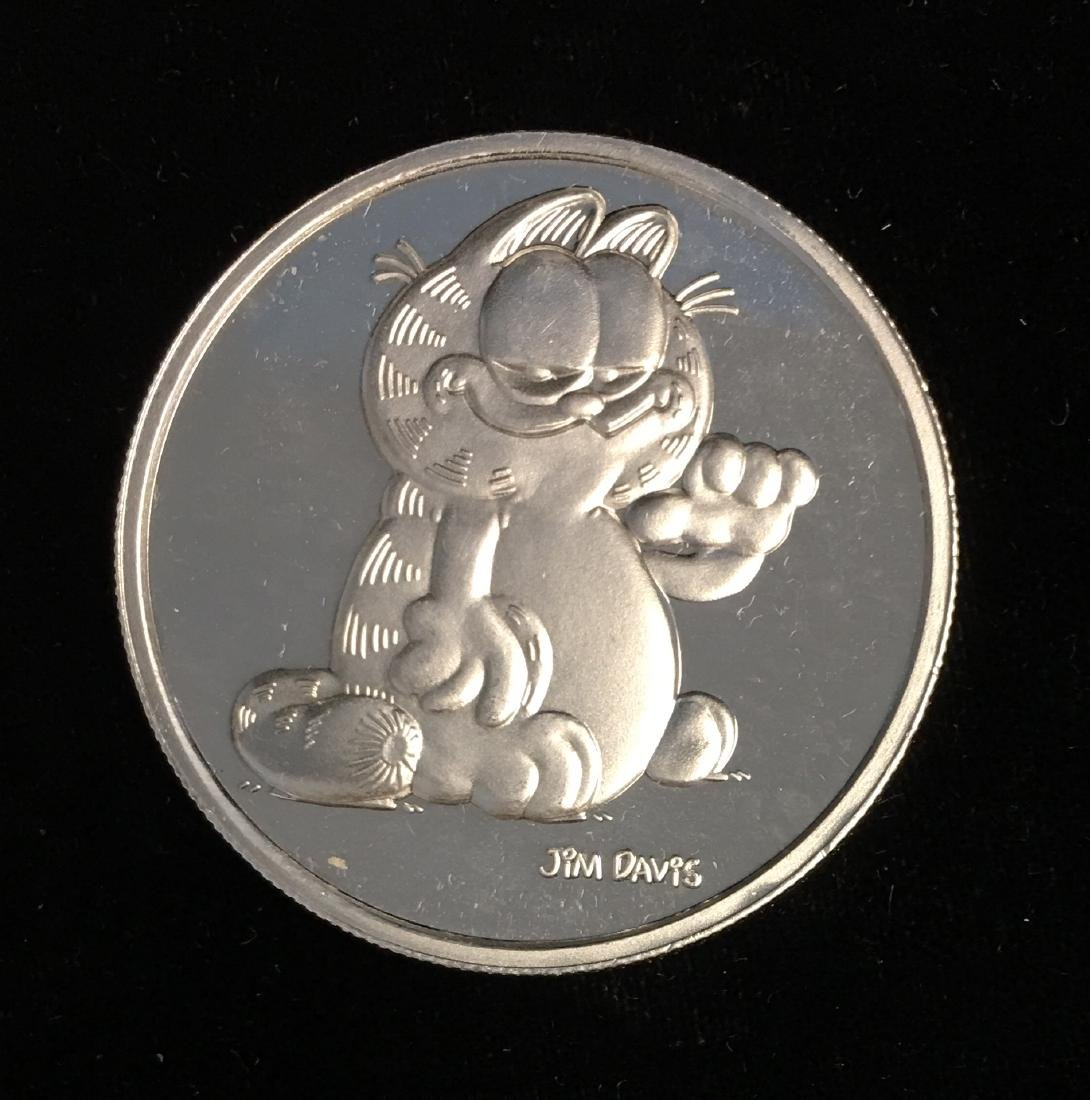 Silver Round 1 oz .999 Fine Silver - 1978 Garfield
