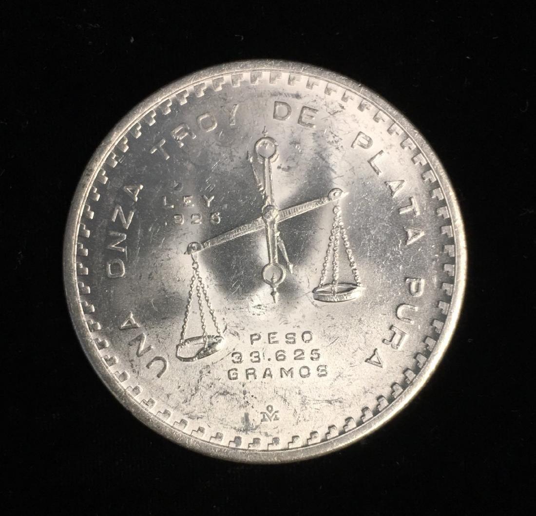 1979MO MEXICO SILVER 1 oz .925 Silver - 2
