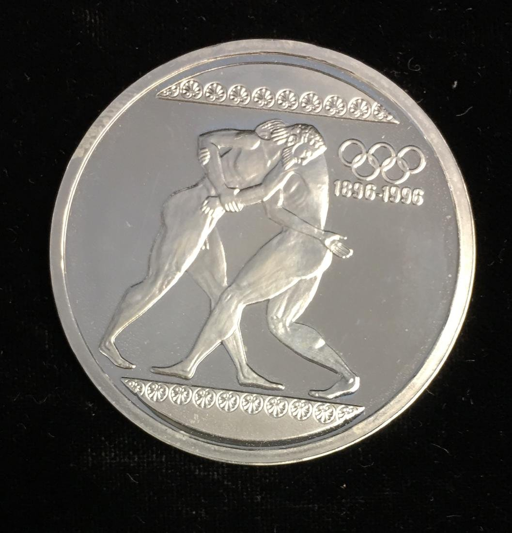 1996 Greece 1000 Drachmas Olympics Commemorative 33.63