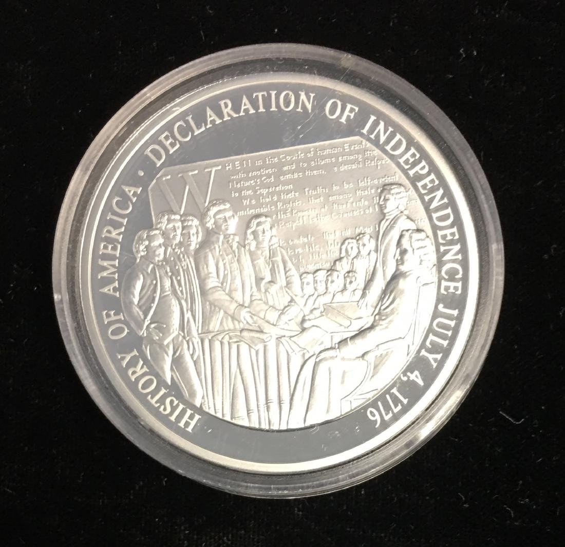 SILVER ROUND - HISTORY OF AMERICA FREEDOM & DEMOCRACY