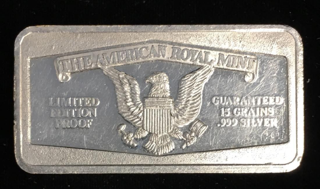 1.775 tr. oz. .999 Silver Art Bar $500 Limited Edition - 2