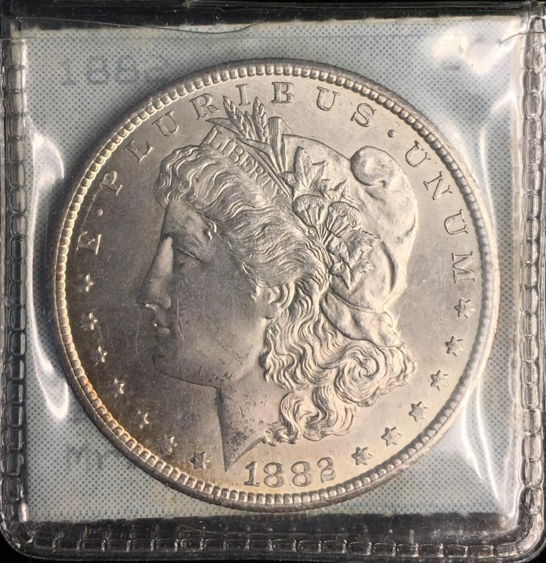 1882-CC $1 Morgan Silver Dollar Very Original GEM BU