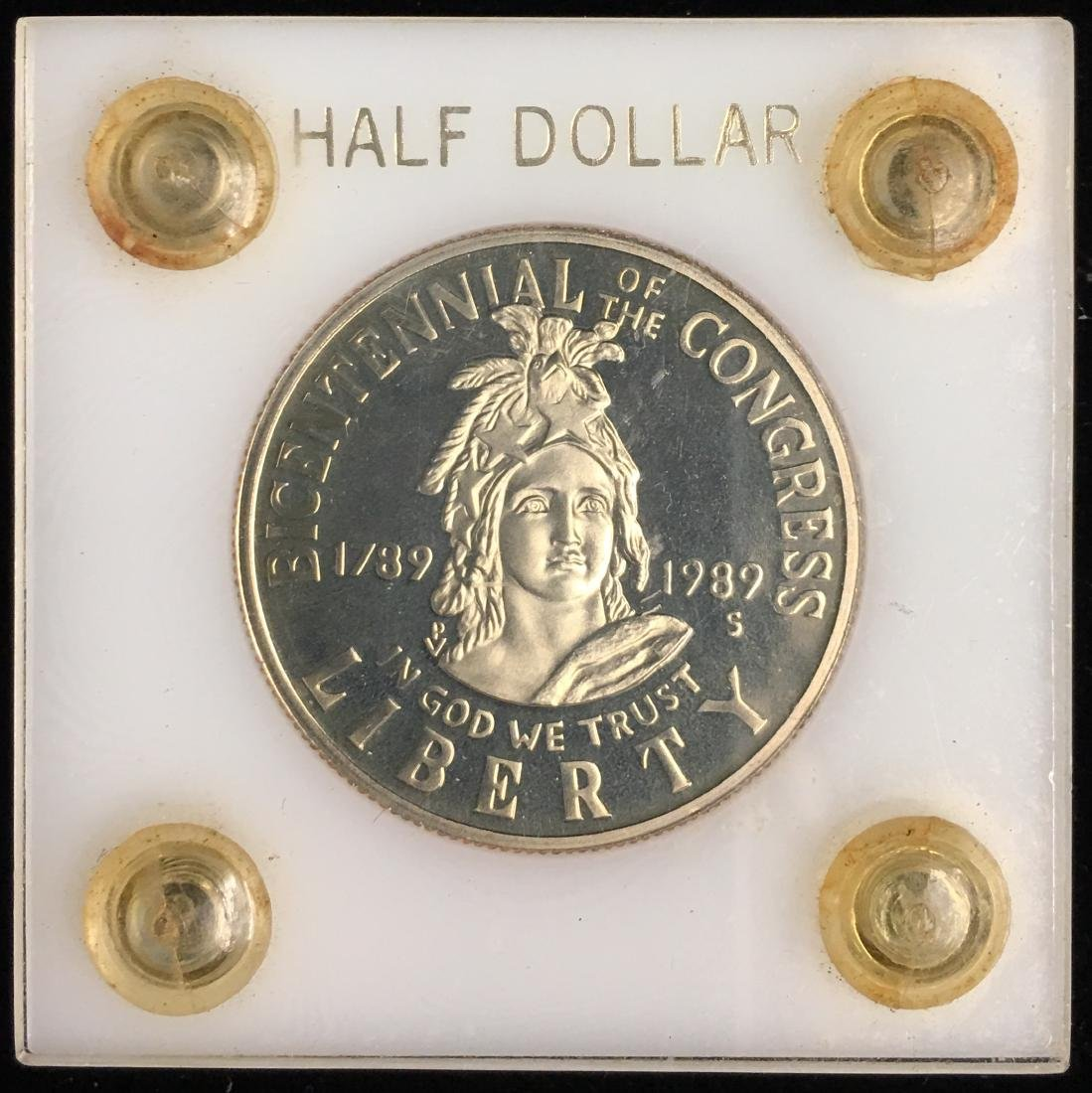 1989-S 50c Congress Bicentennial Commemorative Half