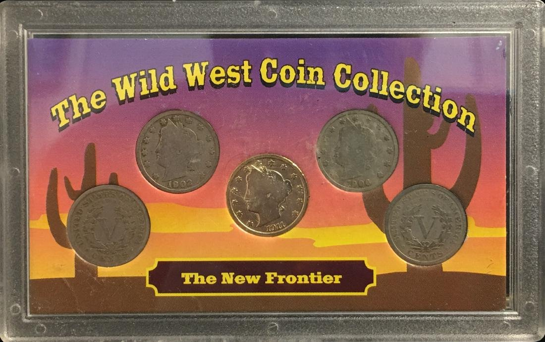 Lot of 2 Sets The Wild West Coin Collection