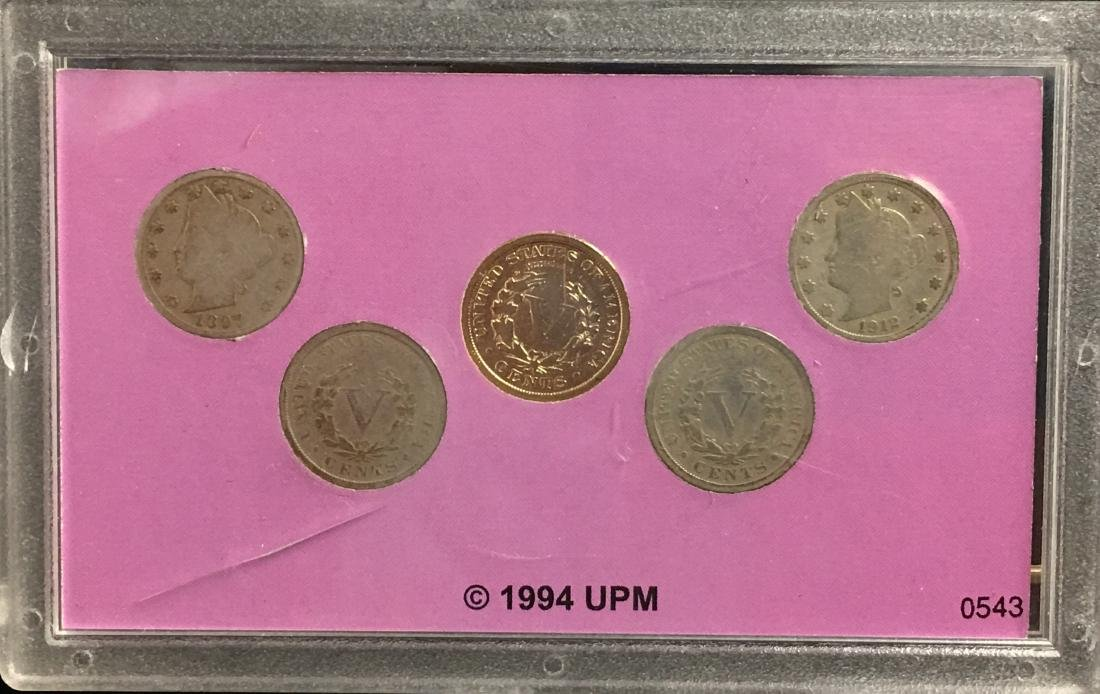 Lot of 2 Sets The Wild West Coin Collection - 2