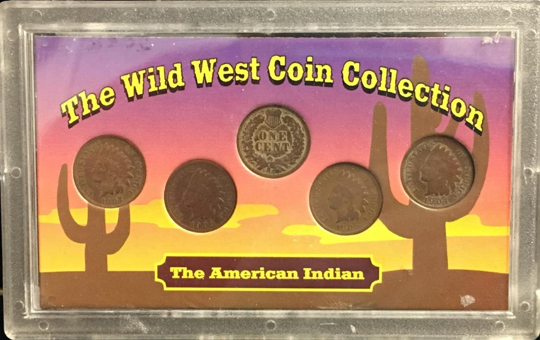 Lot of 2 Sets The Wild West Coin Collection - 3