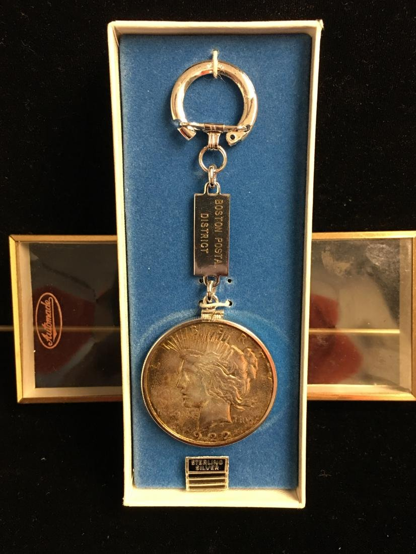 1922-S $1 Peace Dollar Key Chain