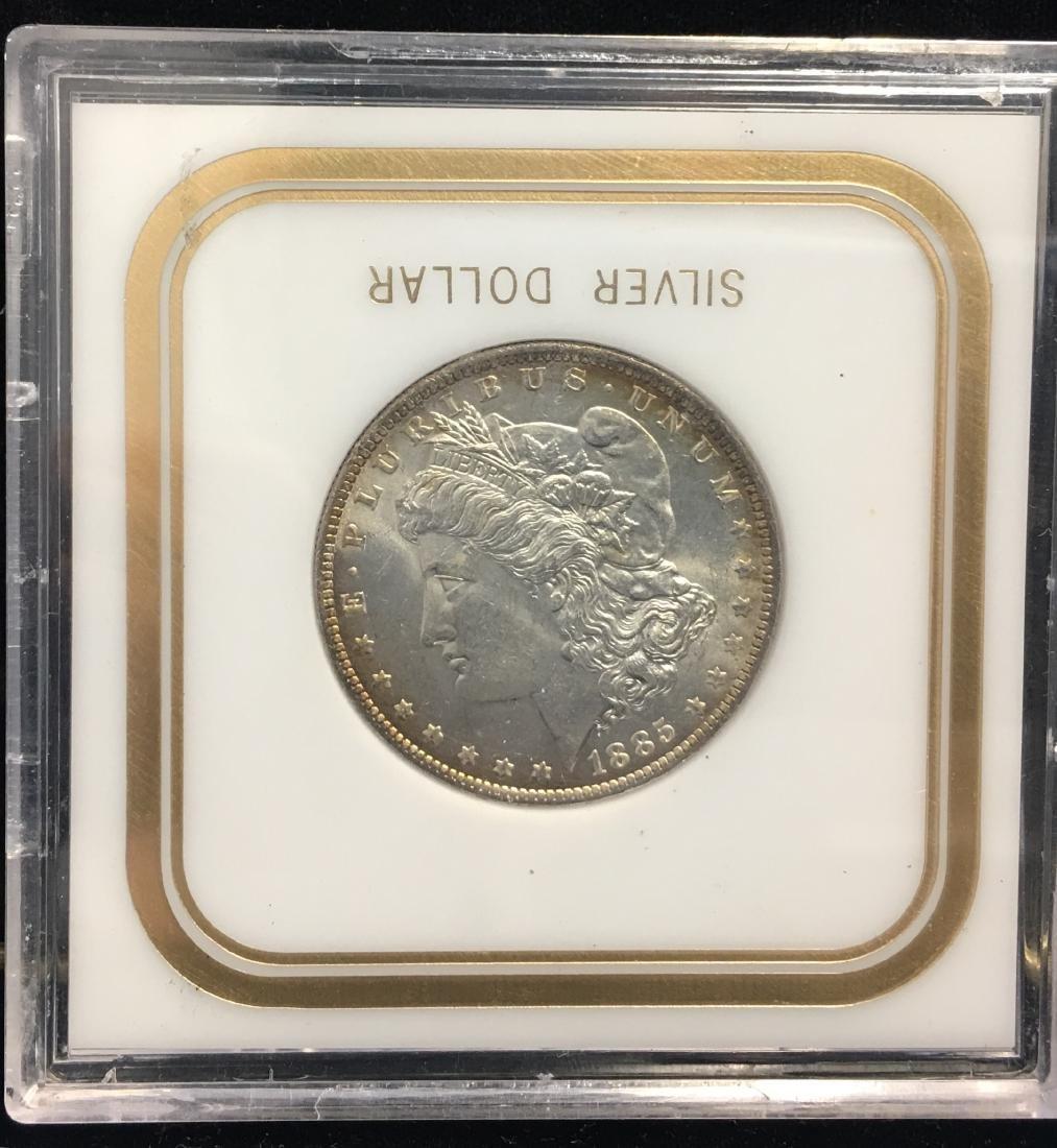 1885-O $1 Morgan Silver Dollar GEM UNC