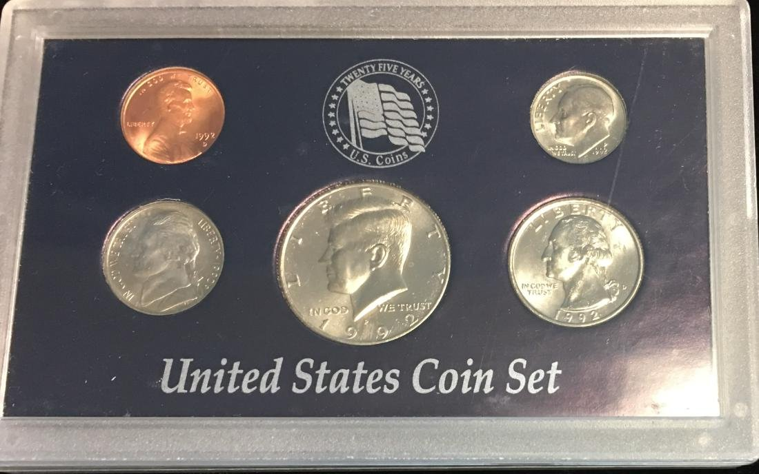 Set of 4 U.S. Date Sets 1990-1993 - 5
